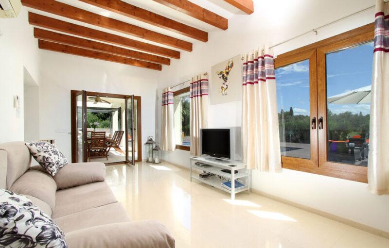 Subach Garden Holiday Villa in Pollensa, Mallorca